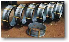 "48"" NB PEBIFLEX Expansion joints for a Power Project"